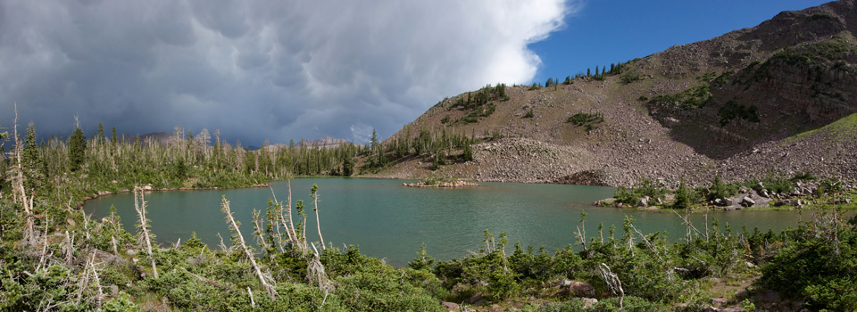 Whiskey Island Lake, Uintas, August 2010