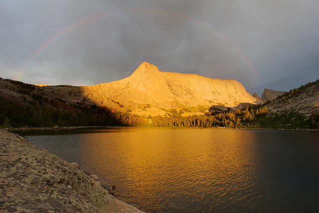 Rainbow over Haystack