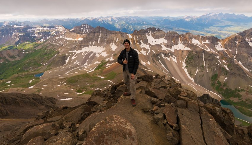 11 - Mount Sneffels via SW Ridge in great company - August.jpg