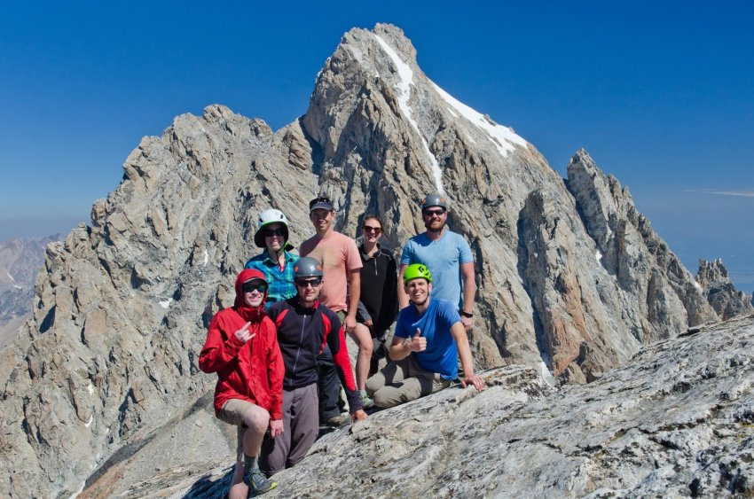 14 - Summiting Middle Teton with great folks - September.jpg