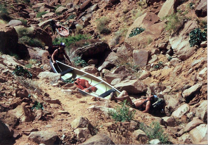 1980 Hole in the Rock Canoe Trip - 08.jpg