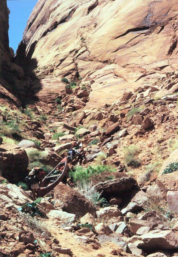 1980 Hole in the Rock Canoe Trip - 09.jpg