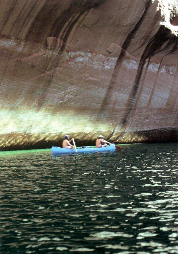 1980 Hole in the Rock Canoe Trip - 13.jpg