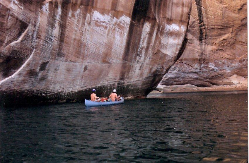 1980 Hole in the Rock Canoe Trip - 14.jpg