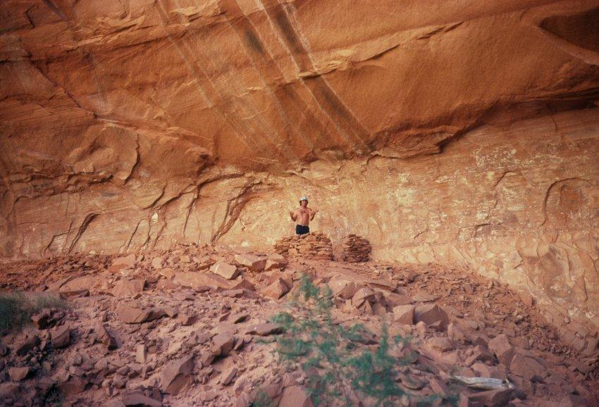 1980 Hole in the Rock Canoe Trip - 19.jpg