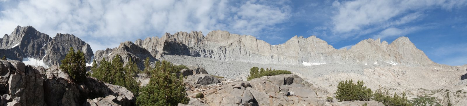 Palisades (Norman Clyde to Mt Sill)
