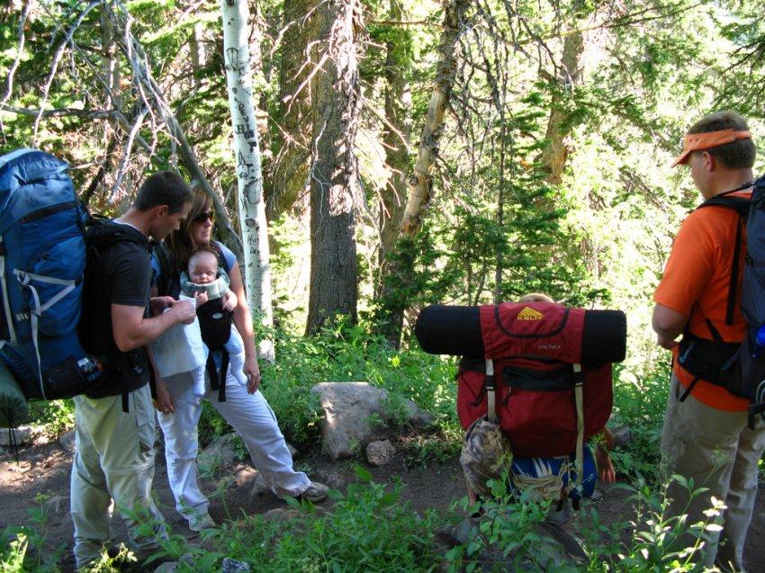 IMG_4539 - White Pine Lake - On the trail.JPG