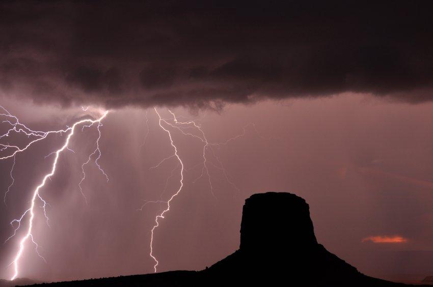 Lightning at Monument Valley 1.JPG