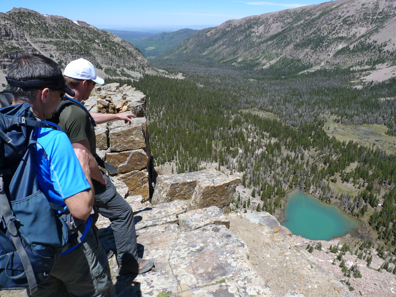 Oslter looking down at the B lake.jpg