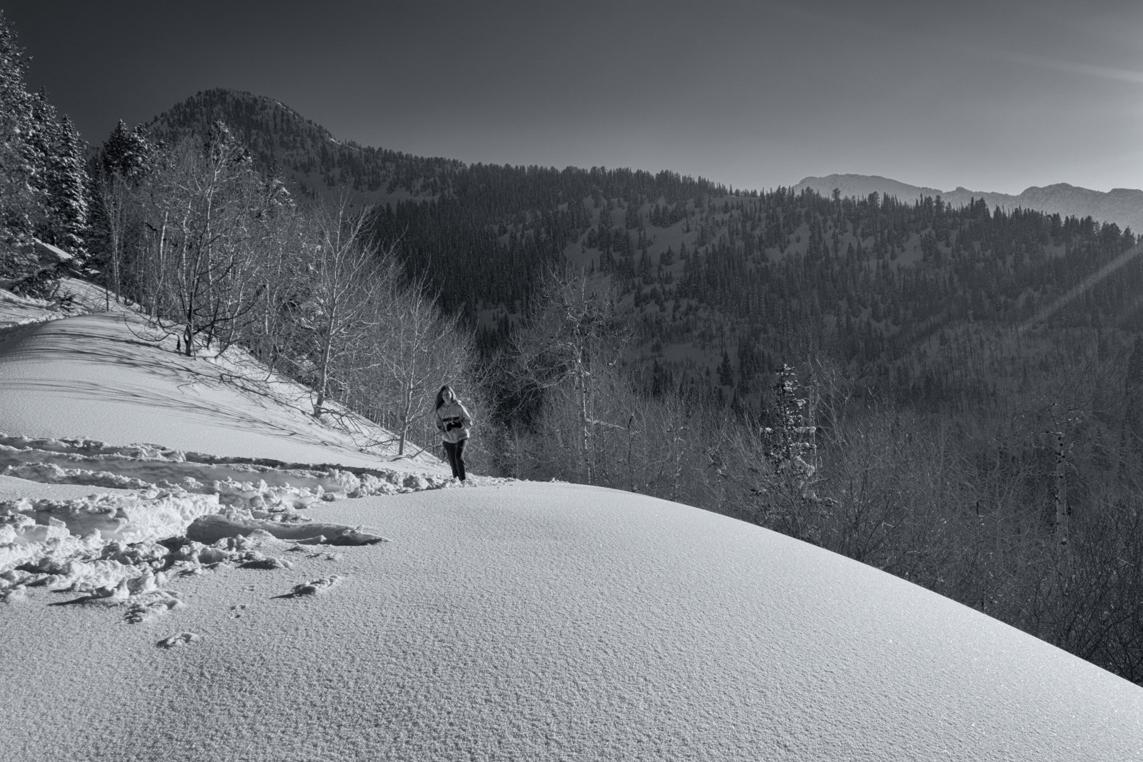Snowshoeing With Ade0111-sm-bw.jpg
