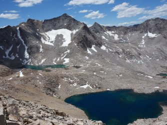 11808' lake from Haeckel Col