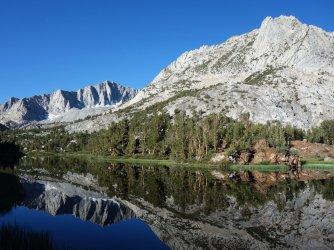 Long Lake, Bishop Pass trail