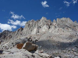 Starlight Peak, North Palisade, and Polemonium Peak