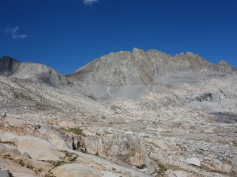 Mt Jepson, Scimitar Pass and Palisade Crest