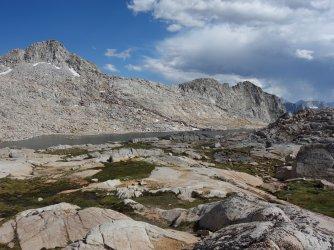 11676' Lake below Potluck and Scimitar Passes
