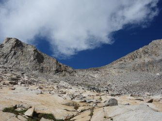 Mt Jepson and Palisade Crest saddle (not the pass :( )