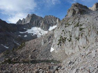 Looking back at Norman Clyde Glacier